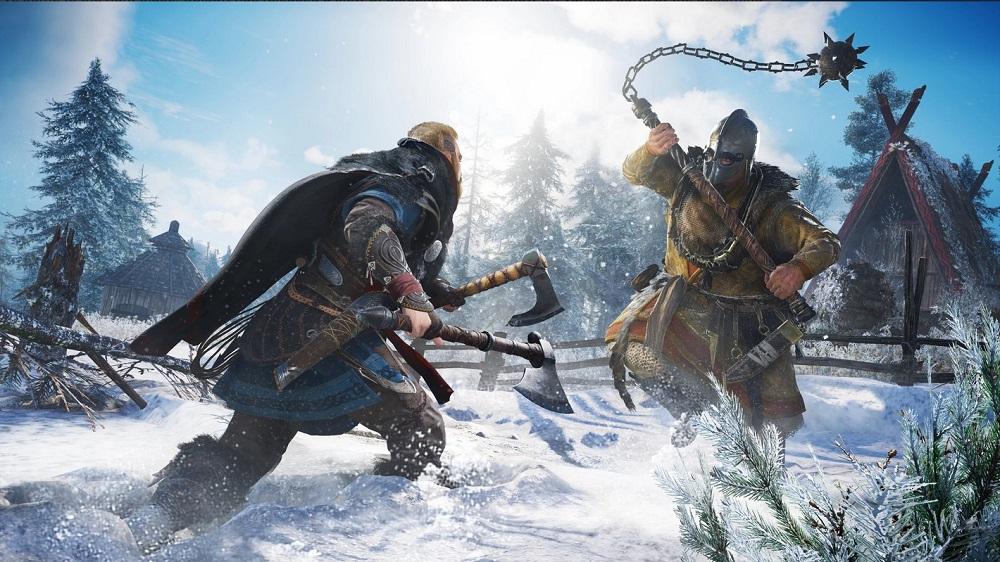 combattimento in Assassin's Creed Valhalla