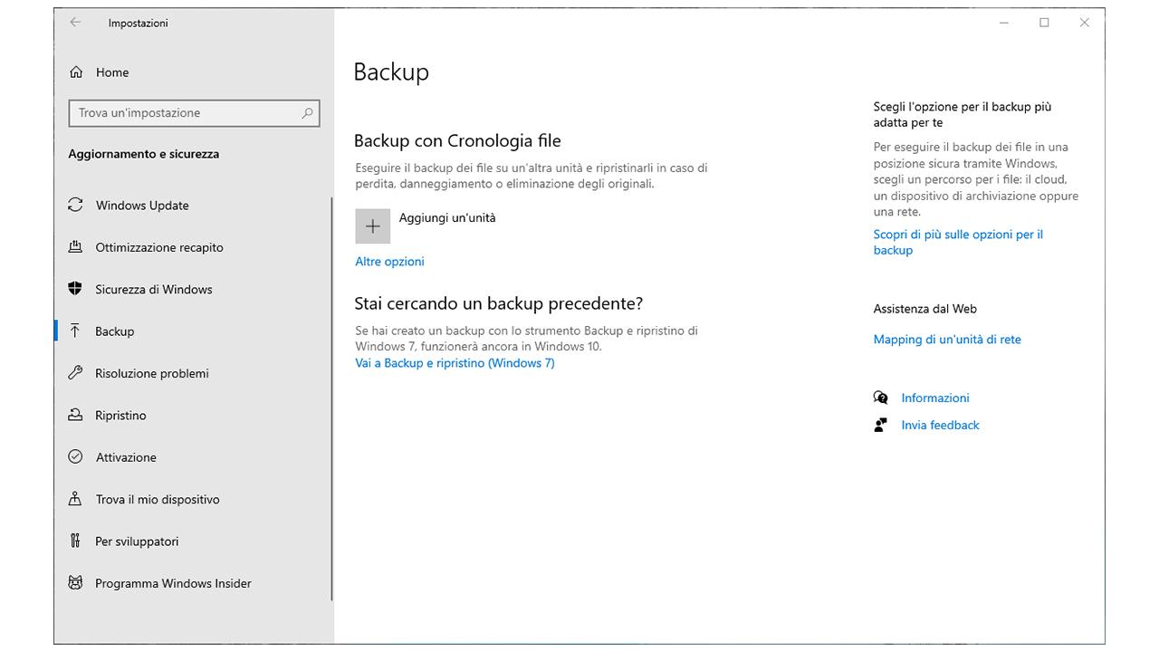 Backup PC Windows 10