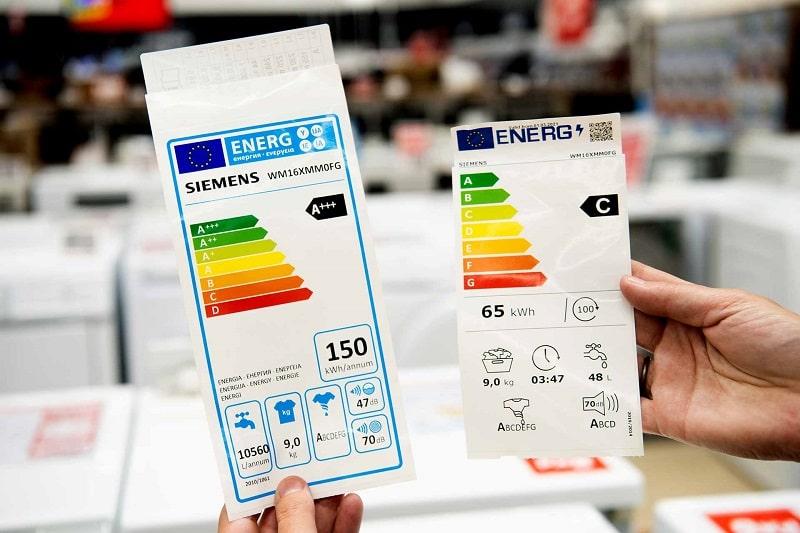classe efficienza energetica elettrodomestici
