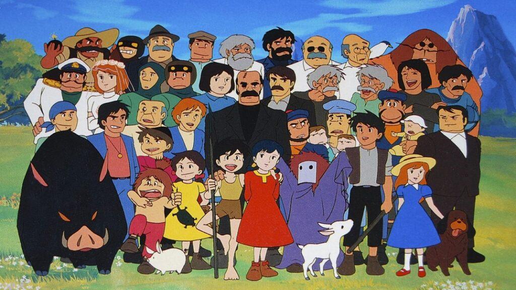 Personaggi Conan il ragazzo del futuro