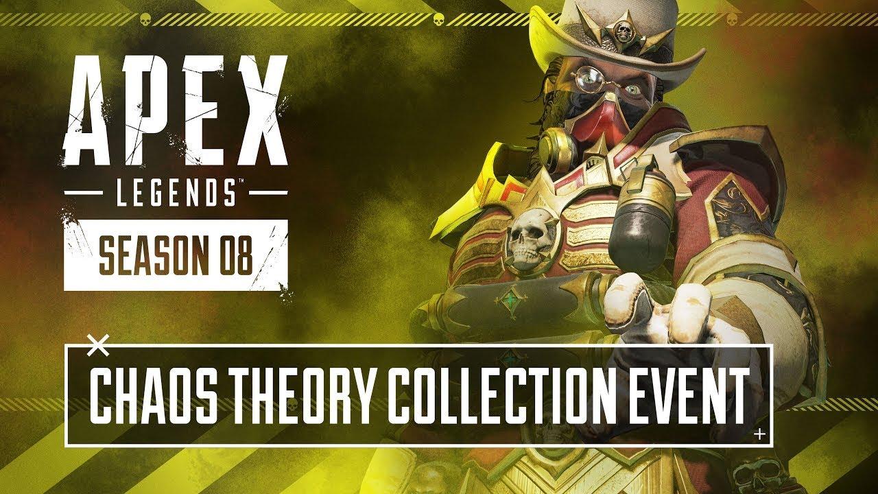 Ecco quando si terrà l'iniziativa Apex Legends Evento Collezione Teoria del Caos thumbnail