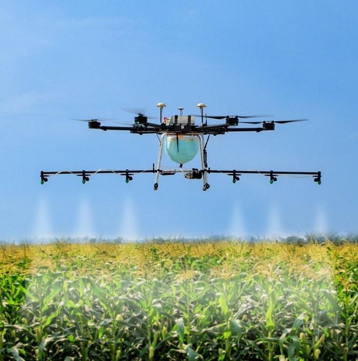 droni agricoli 5g ruraldorset qualcomm