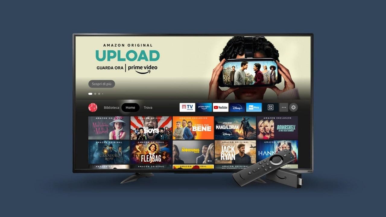 fire tv stick 2021 nuova interfaccia