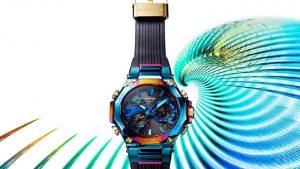 G-Shock lancia un nuovo orologio MTG ispirato alla mitica fenice blu  MTG-B2000PH ha uno schema di colori unico e la solita resistenza estrema di G-Shock