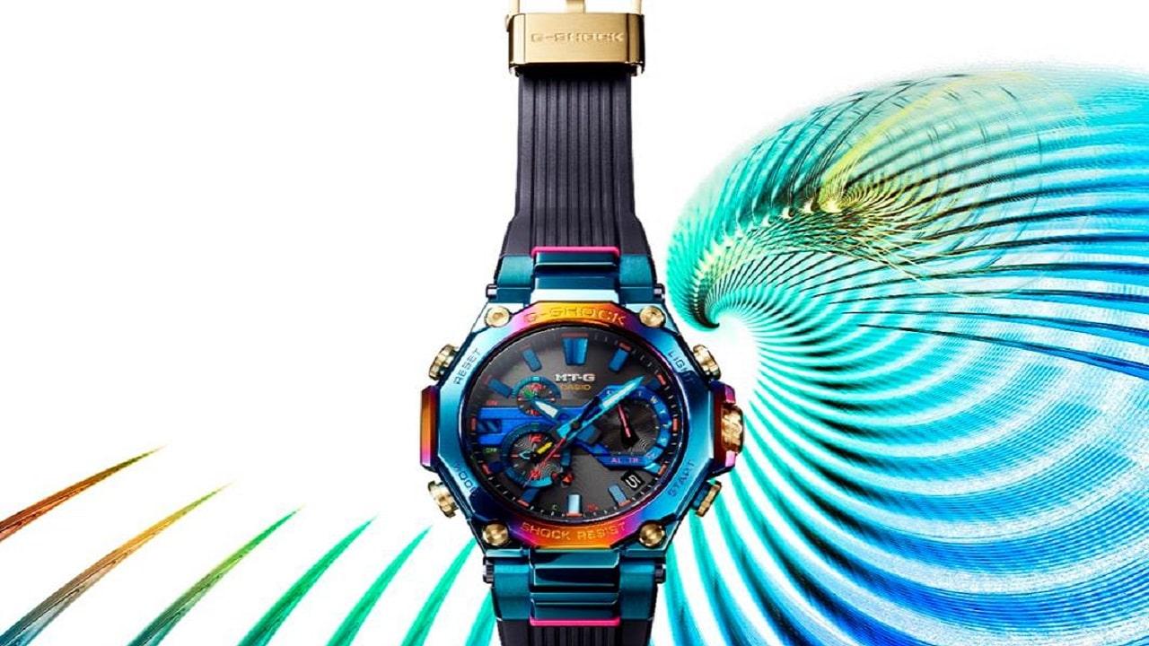 G-Shock lancia un nuovo orologio MTG ispirato alla mitica fenice blu thumbnail