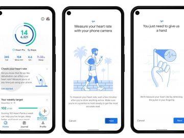google fit funzionalità frequenza cardiaca respiratoria