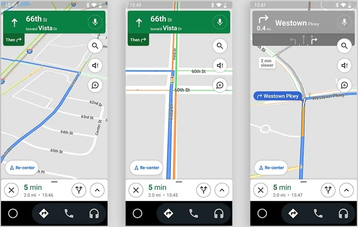 google maps navigatore