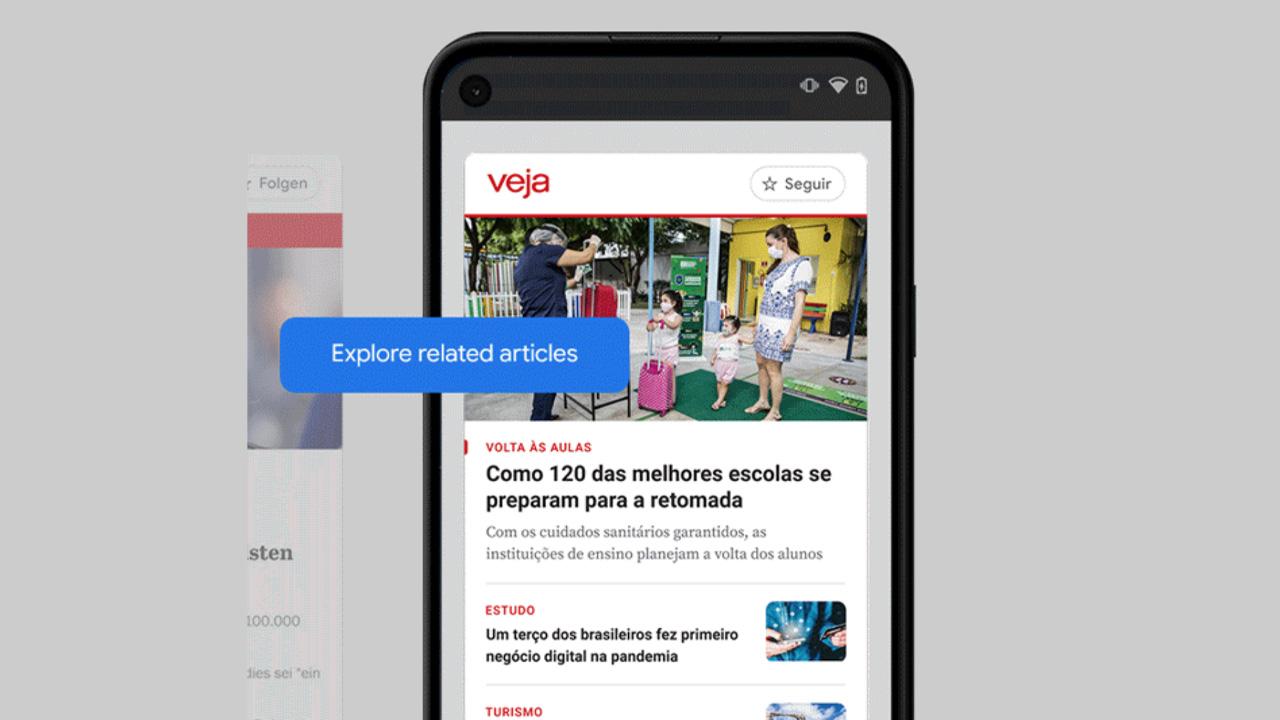 Google News Showcase arriva in Italia, firmato un accordo con gli editori italiani thumbnail