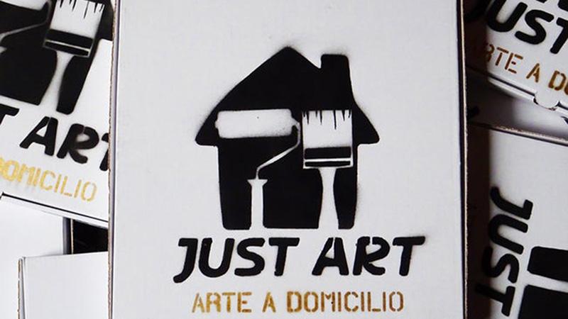 just art consegna domicilio quadri sirante logo