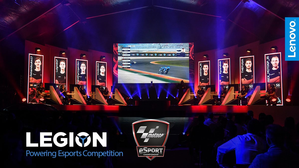 Lenovo e Dorna Sports insieme per il campionato MotoGP eSport thumbnail