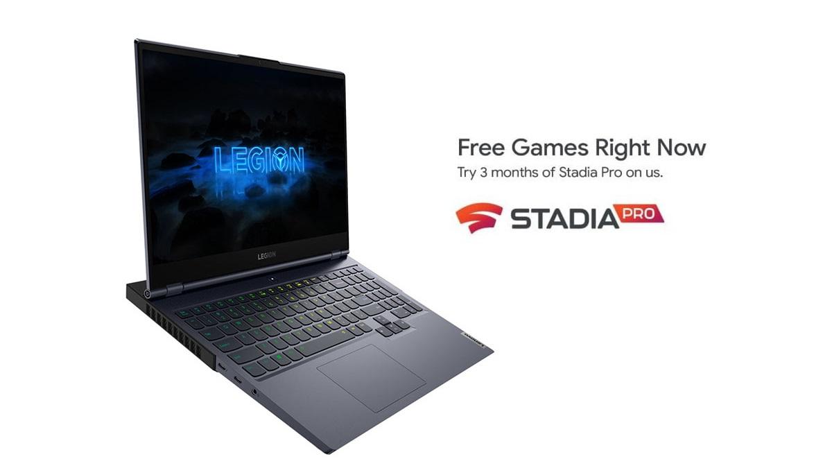 Lenovo offre 3 mesi di Google Stadia Pro a chi acquista un PC da gaming thumbnail
