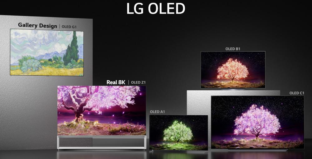 linea TV LG 2021 OLED