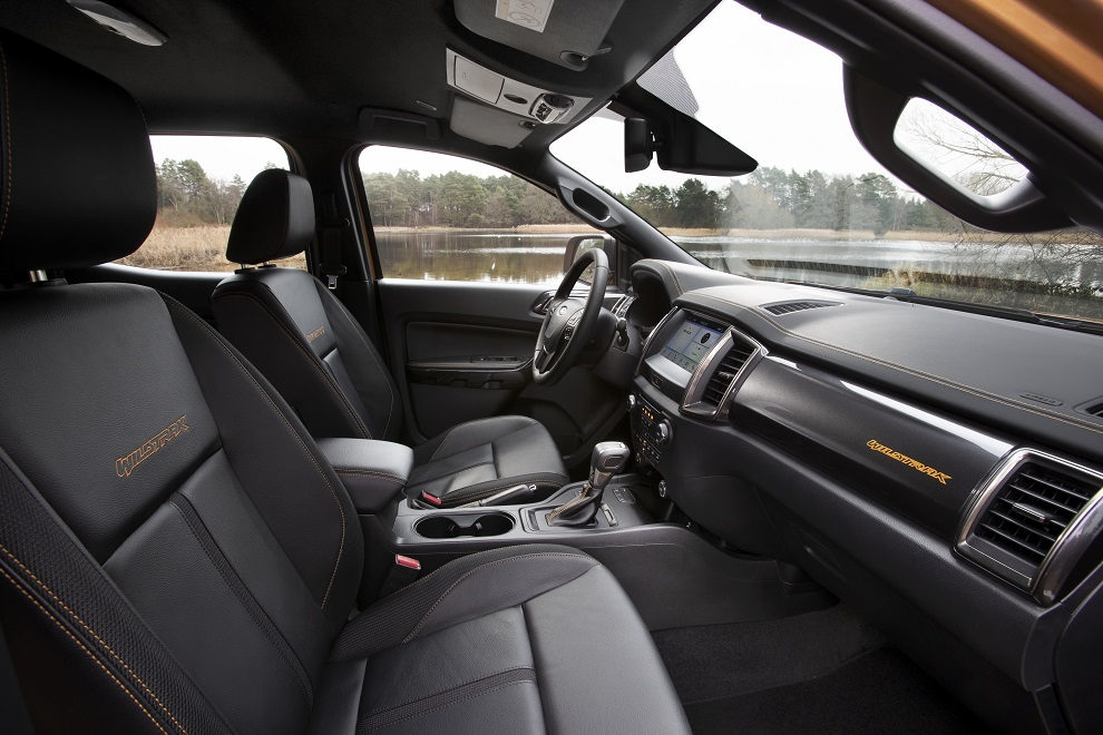 migliori pick-up ford ranger interni