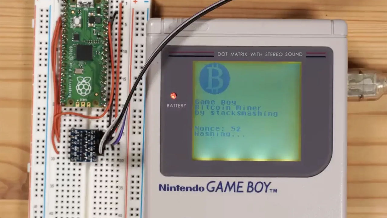 È possibile minare bitcoin con un Game Boy? thumbnail