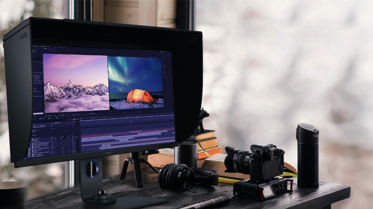 monitor editing video e foto BenQ SW271C