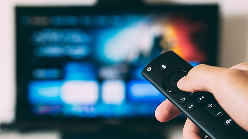 smart tv telecomando streaming
