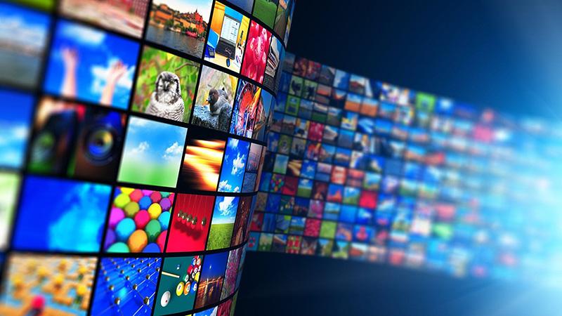 schermate di contenuti streaming