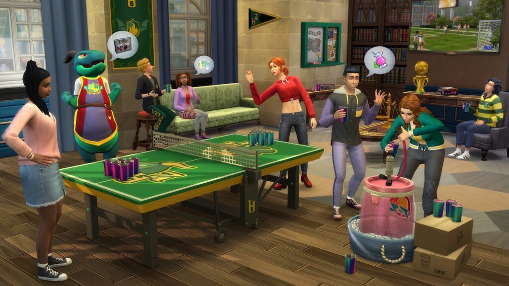 The Sims Linguaggio