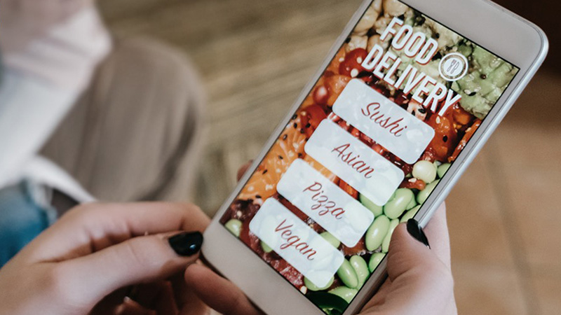paypal telefono scelta food delivery