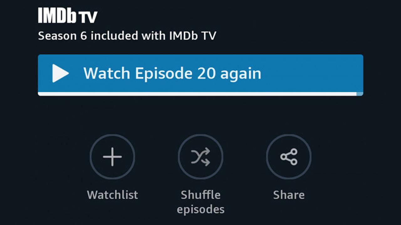 Prime Video riproduzione casuale episodi