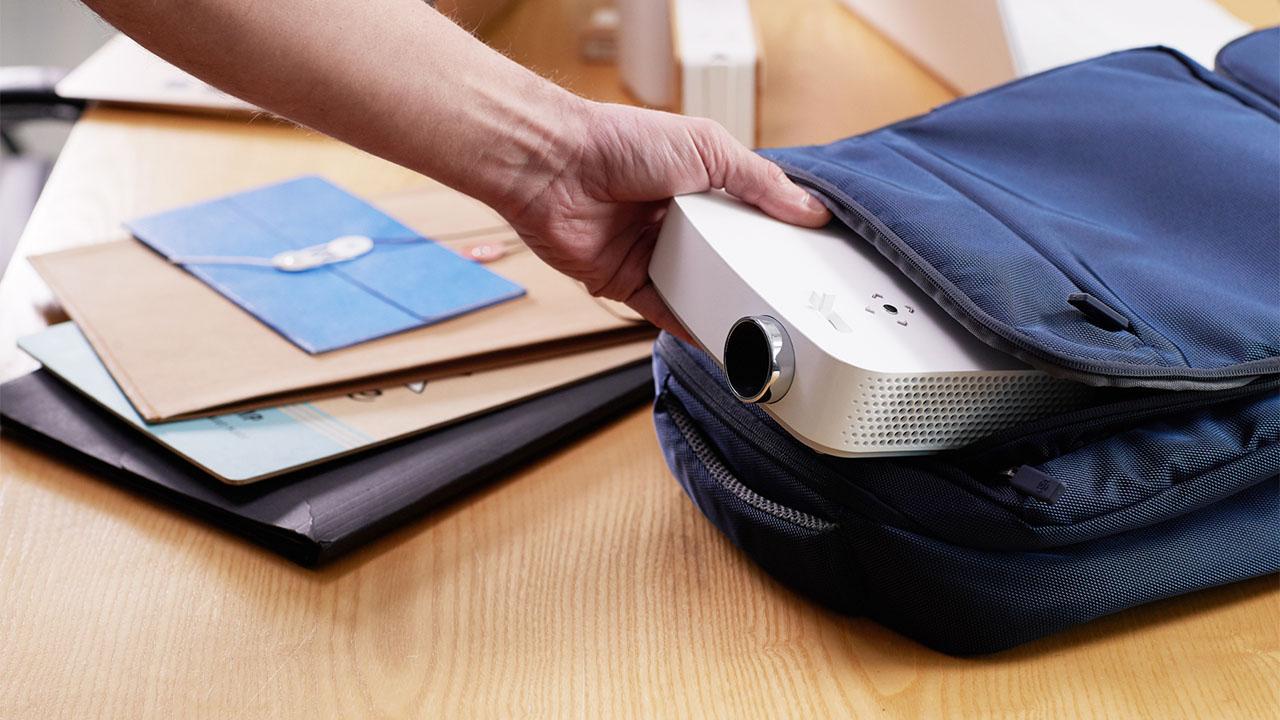 Proiettori portatili LG CineBeam, grandi prestazioni in piccole dimensioni thumbnail