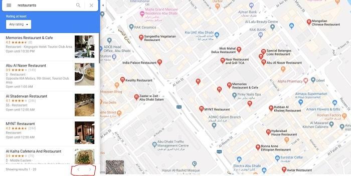 recensioni e luoghi street view
