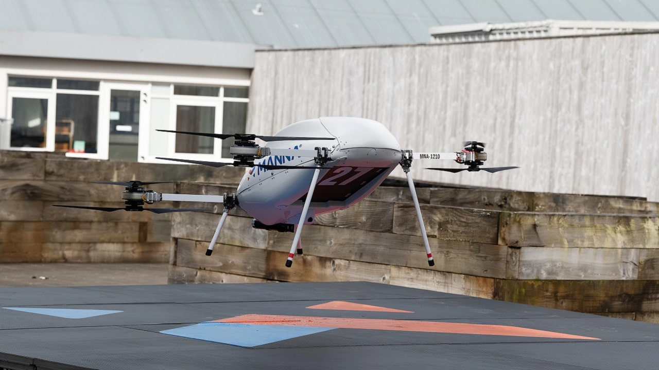 Samsung consegna con i droni (ma solo in una cittadina irlandese) thumbnail