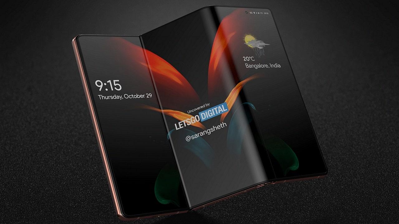 Samsung pronta a lanciare uno smartphone che si piega due volte thumbnail