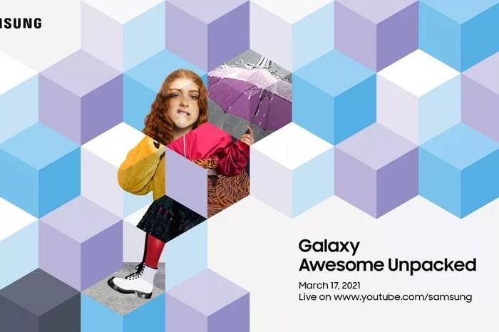 sasmsung galaxy unpacked marzo 2021