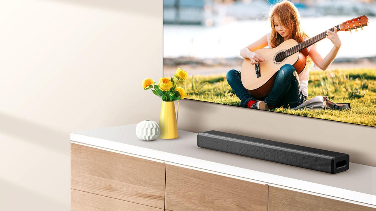 Hisense presenta la sua prima soundbar: un dispositivo all-in-one dal suono potente thumbnail