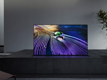 tv bravia XR 4K HDR A90J intelligenza cognitiva