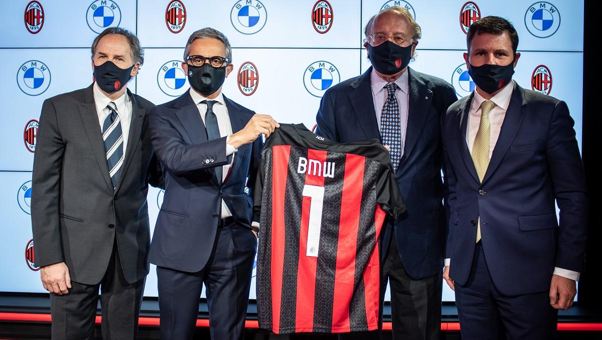 AC Milan e BMW annunciano una nuova partnership thumbnail