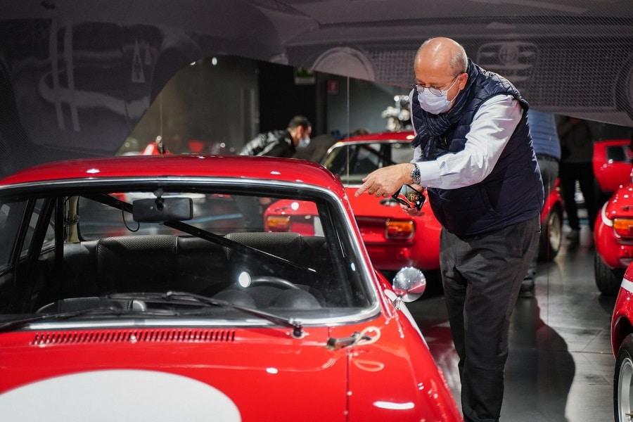 CEO Alfa Romeo Jean Philippe Imparato
