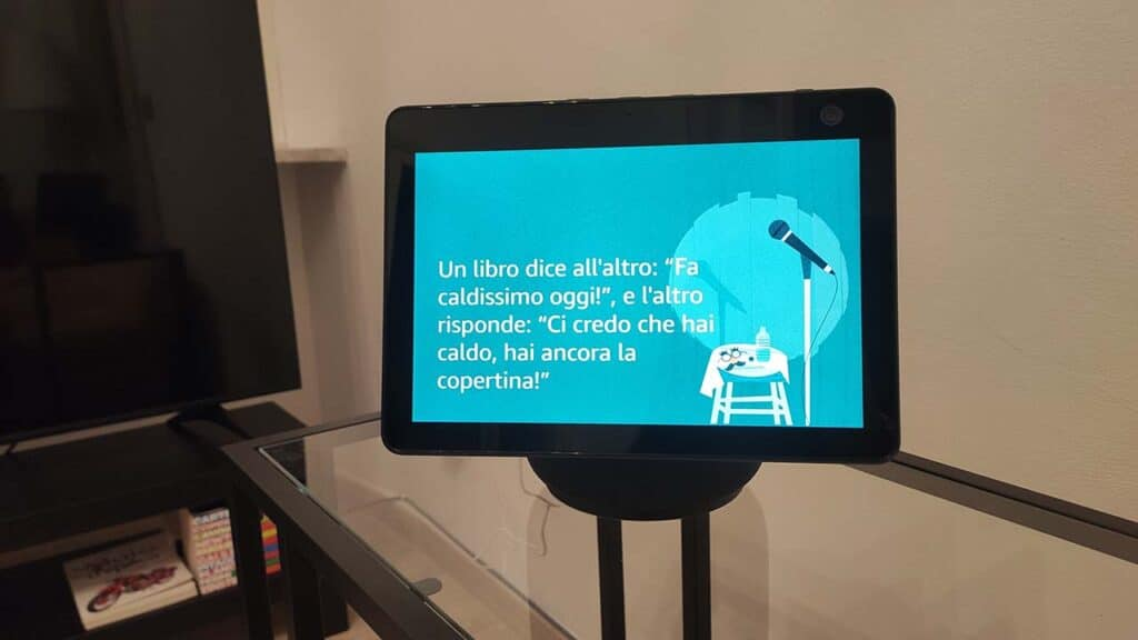 Amazon Echo Show 10 barzelletta
