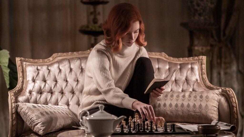Anya Taylor-Joy la Regina degli scacchi studio