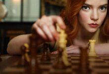 Anya Taylor-Joy la Regina degli scacchi personaggio