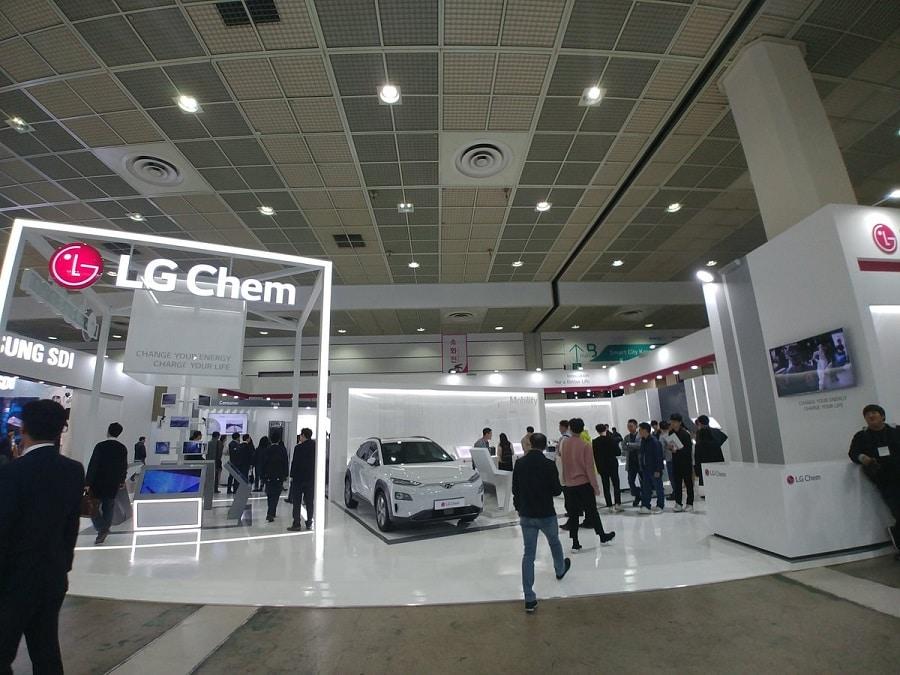 Apple Car LG Chem