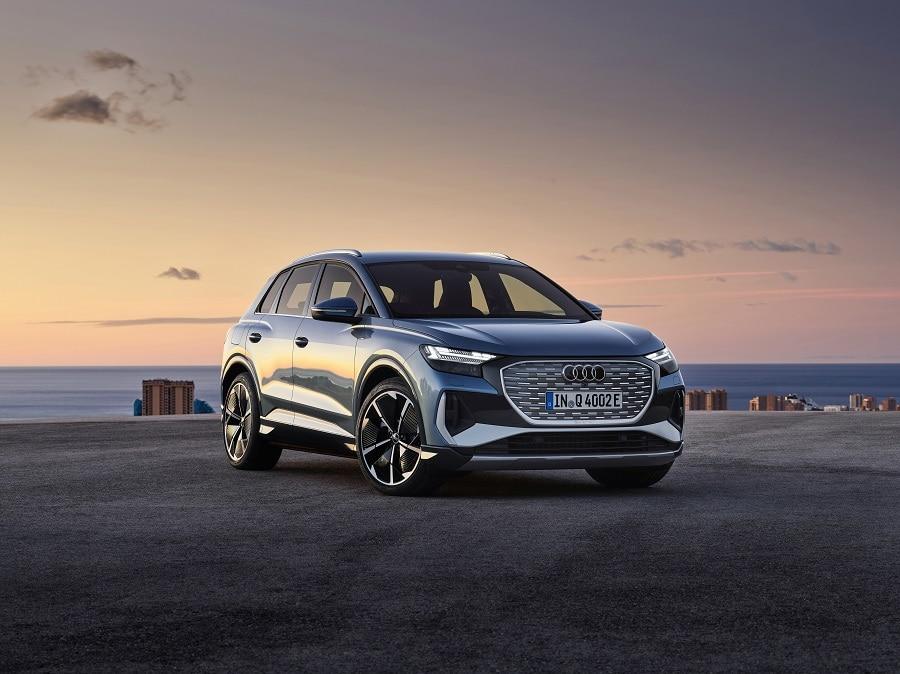 Audi Q4 e-tron 2021 frontale1