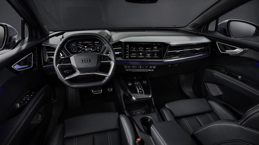 Audi Q4 e-tron 2021 interni