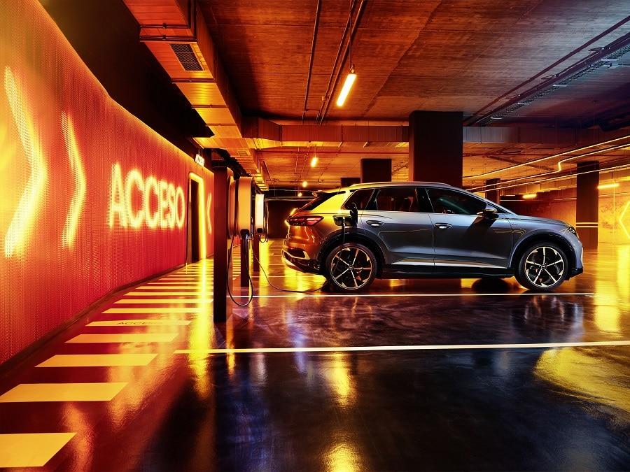 Audi Q4 e-tron 2021 ricarica