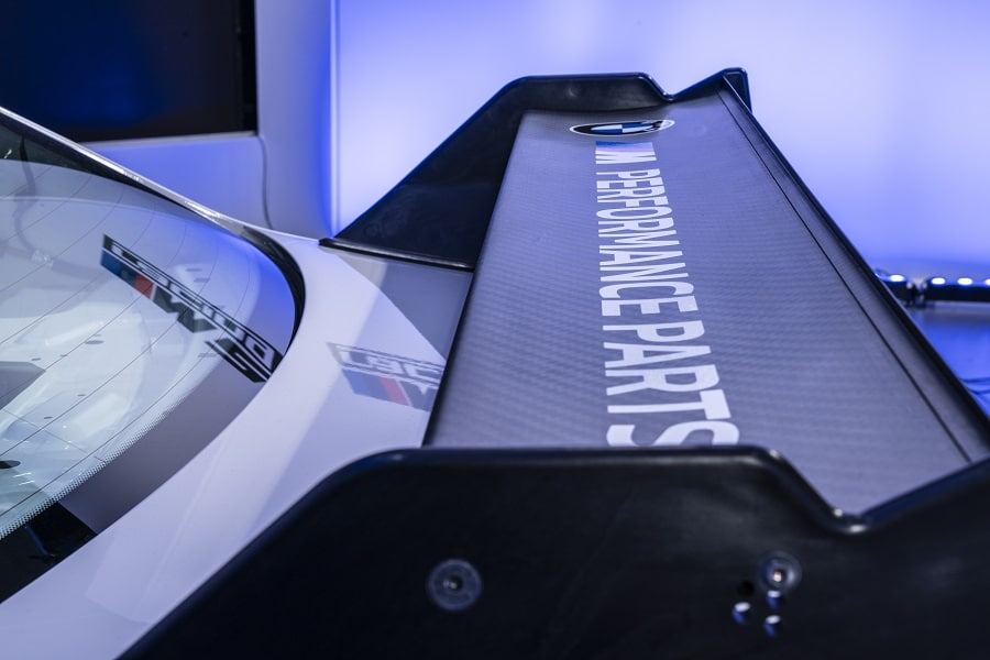BMW M2 CS Cup alettone