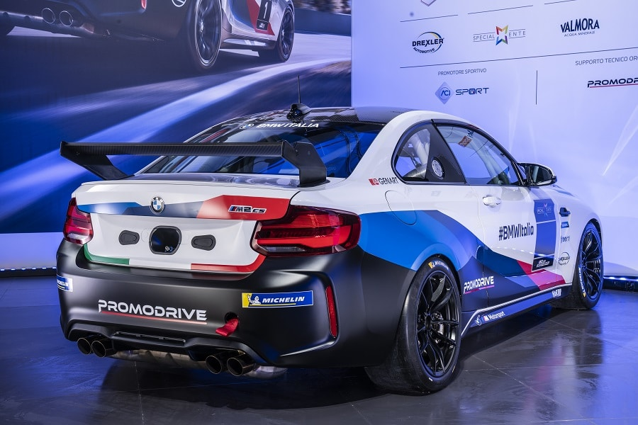 BMW M2 CS Cup posteriore