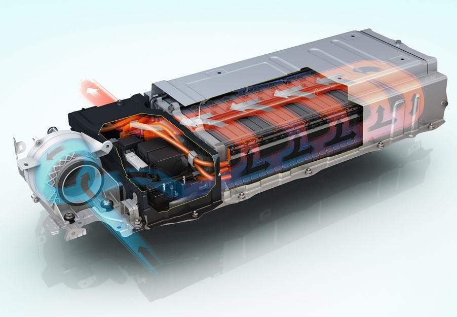 Batterie auto elettriche raffreddamento