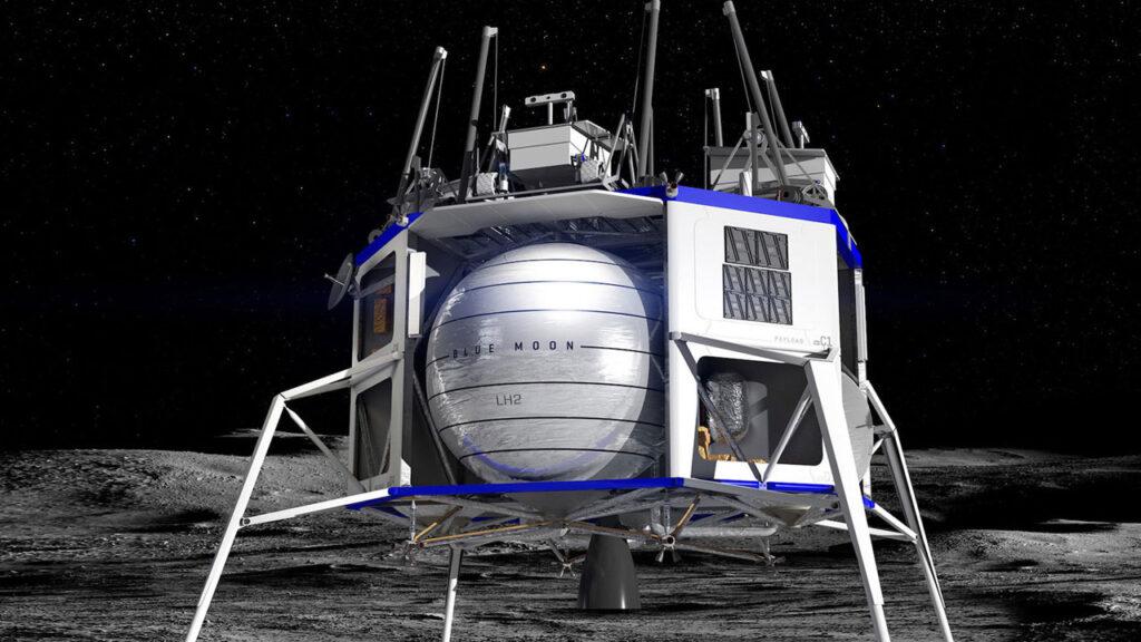 Blue Origin ricorso NASA