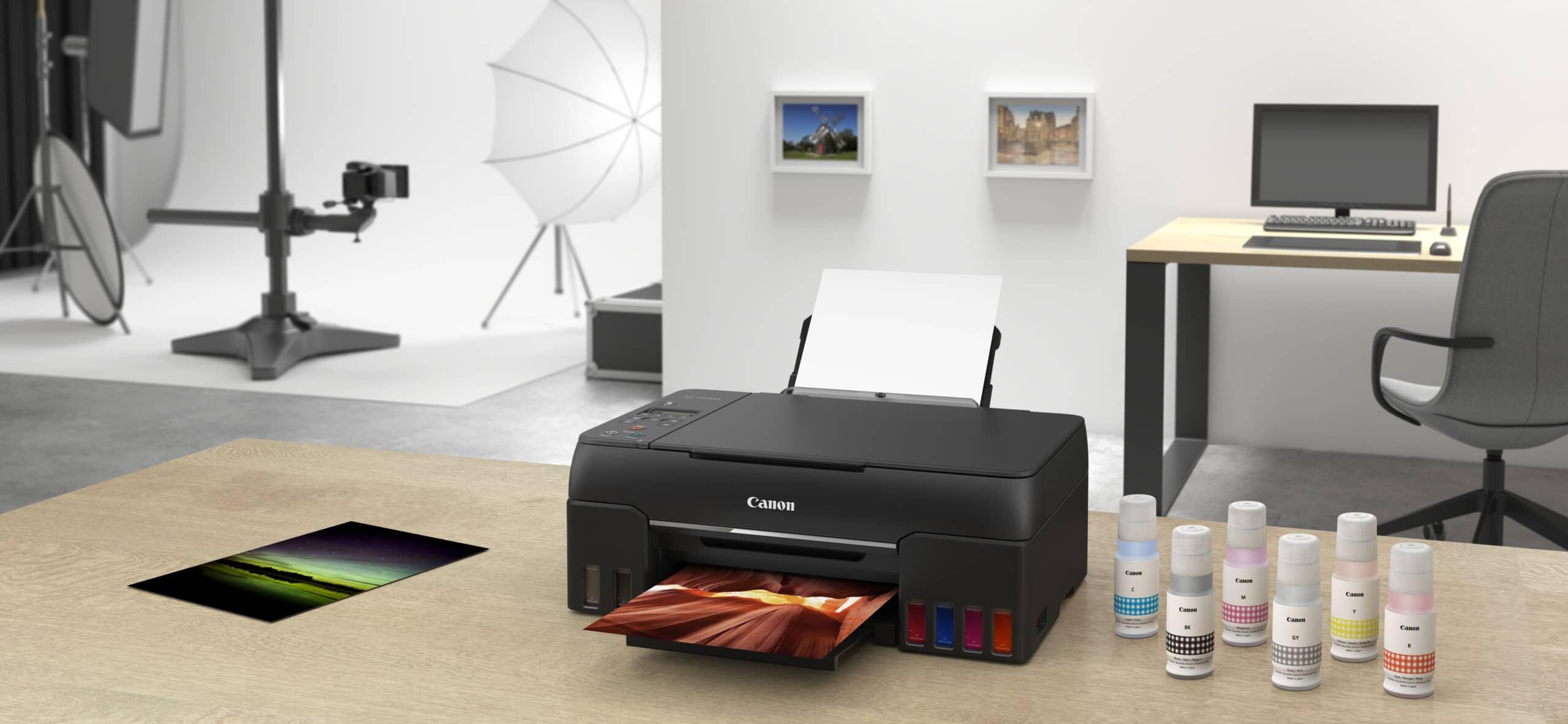 Nuove stampanti MegaTank Canon, grandi serbatoi per l'inchiostro thumbnail