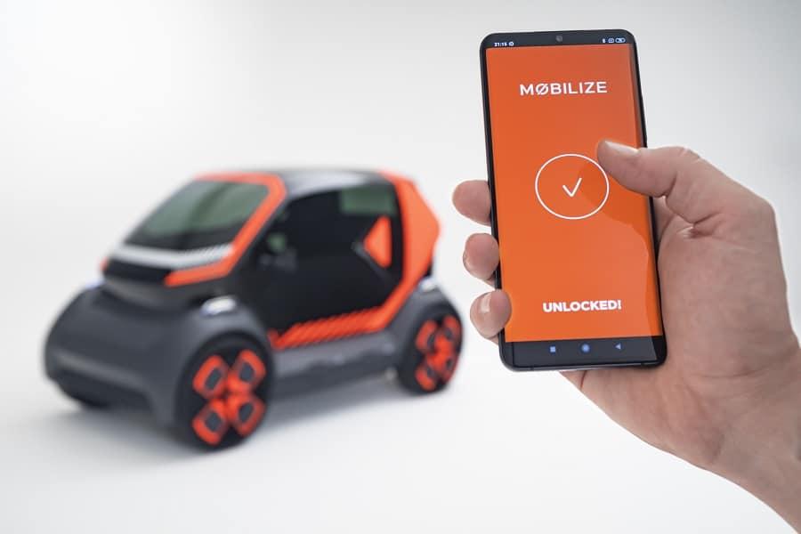 Corrente Car Sharing Mobilize EZ1