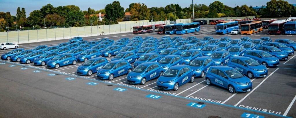 Corrente Car Sharing flotta
