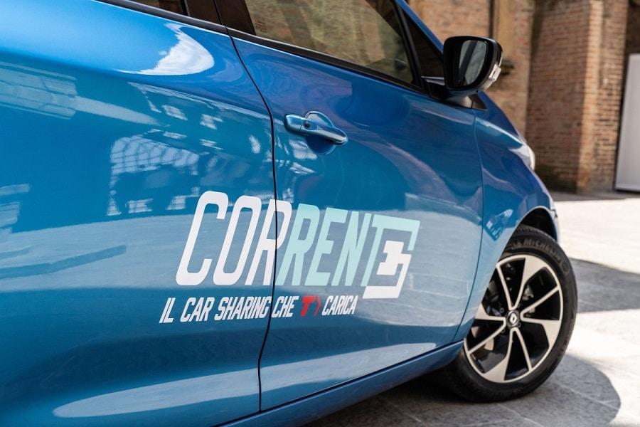 Corrente car sharing logo
