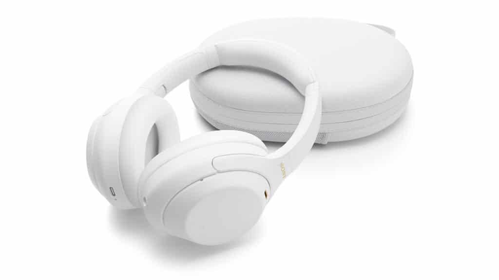 Cuffie Sony WH-1000XM4 Silent White