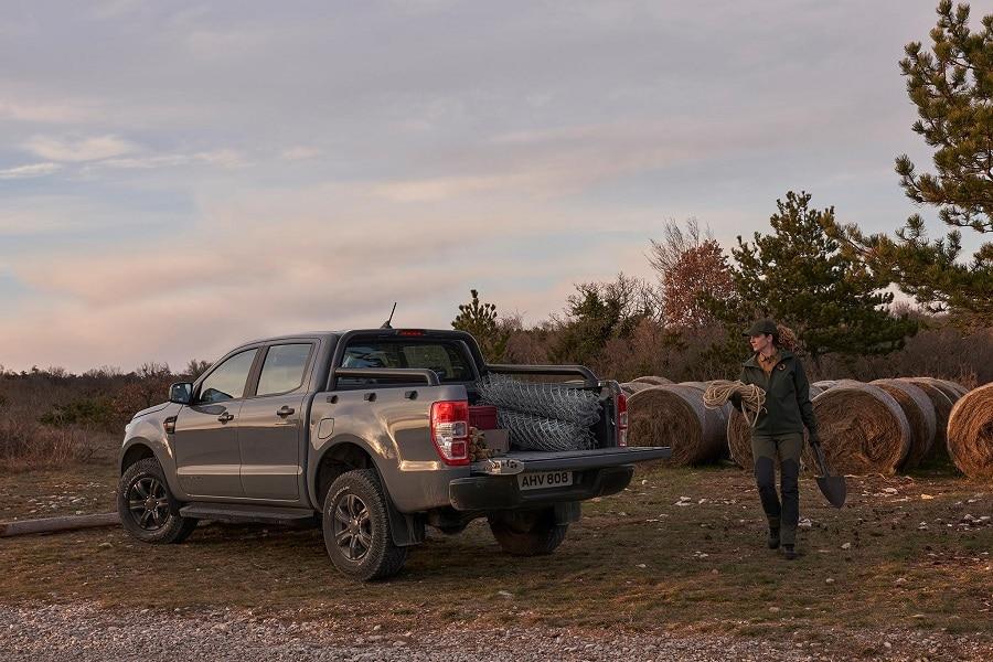Ford Ranger Stormtrak wolftrak carico